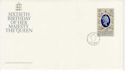 1986-04-21 Guernsey Queen's 60th Stamp FDC (62638)
