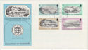 1982-02-02 Guernsey Old Prints Stamps FDC (62656)