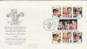 1981-07-29 Guernsey Royal Wedding Stamps FDC (62661)