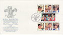 1981-07-29 Guernsey Royal Wedding Stamps FDC (62662)