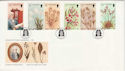 1988-11-15 Guernsey Wild Flowers Stamps FDC (62689)