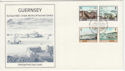 1983-03-14 Guernsey Europa Harbours Stamps FDC (62693)