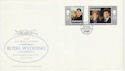 1986-07-23 Guernsey Royal Wedding Stamps FDC (62698)