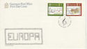 1985-05-14 Guernsey Europa Music Stamps FDC (62702)
