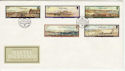 1985-11-19 Guernsey Naftel Paintings Stamps FDC (62703)