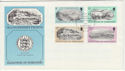 1982-02-02 Guernsey Old Prints Stamps FDC (62705)