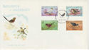 1978-08-29 Guernsey Birds Stamps FDC (62736)
