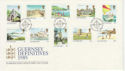 1985-07-23 Guernsey Definitive Stamps FDC (62766)