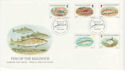 1985-01-22 Guernsey Fish Stamps FDC (62774)