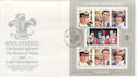 1981-07-29 Guernsey Royal Wedding Stamps FDC (62784)