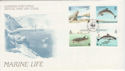 1990-10-16 Guernsey Marine Life Stamps FDC (62794)