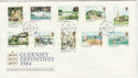 1984-09-18 Guernsey Definitive Stamps FDC (62802)