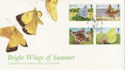 1997-02-12 Guernsey Butterflies / Moths Stamps FDC (62811)
