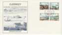 1983-03-14 Guernsey Europa Harbours Stamps FDC (62813)