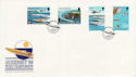 1988-09-06 Guernsey Power Boats Stamps FDC (62829)