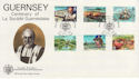 1982-04-28 Guernsey La Societe Stamps FDC (62833)
