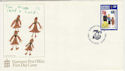 1985-05-14 Guernsey Girl Guide Stamp FDC (62838)
