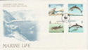 1990-10-16 Guernsey Marine Life Stamps FDC (62844)