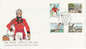 1984-11-20 Guernsey John Doyle Stamps FDC (62849)