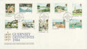 1984-09-18 Guernsey Definitive Stamps FDC (62854)
