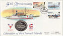 1995-05-09 Jersey Liberation Anniv Stamp Coin FDC (62927)