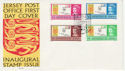 1969-10-01 Jersey Inaugural Stamps FDC (62931)