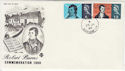 1966-01-25 Robert Burns Stamps Hythe cds FDC (62943)