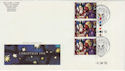 1992-11-10 Christmas Stamps Used Durham 1993 Souv (62986)