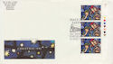 1992-11-10 Christmas Stamps T/L Porthcawl FDC (62989)