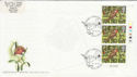 1995-10-30 Christmas Stamps T/L Hollybush FDC (63005)