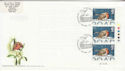 1995-10-30 Christmas Stamps T/L Snowdown FDC (63009)