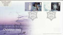 2003-11-04 Christmas Stamps + Labels Crystal Peaks FDC (63076)