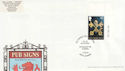 2003-08-12 Pub Signs Stamp Bury St Edmunds FDC (63085)