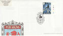 2003-08-12 Pub Signs Stamp Oswestry FDC (63092)