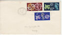 1961-09-18 CEPT Stamps Torquay Slogan FDC (63122)