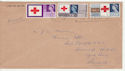 1963-08-15 Red Cross Stamps Leeds Slogan FDC (63131)