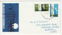 1965-10-08 Post Office Tower Stamps Blackpool FDC (63153)