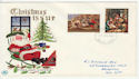 1967-11-27 Christmas Stamps Brighton FDC (63173)