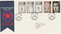 1969-07-01 Investiture Stamps Caernarvon FDC (63191)