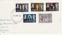 1964-04-23 Shakespeare Stamps Ipswich FDC (63200)