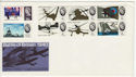 1965-09-13 Battle of Britain Stamps No Pmk FDC (63227)