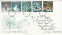 1998-03-24 Lighthouses Stamps S Devon FDC (63231)