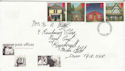 1997-08-12 Post Offices Stamps Exeter FDC (63235)