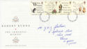 1996-01-25 Robert Burns Stamps York FDC (63240)