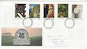 1995-04-11 National Trust Stamps Nottingham FDC (63247)