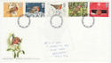 1995-10-30 Christmas Robins Stamps Nottingham FDC (63249)