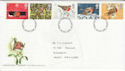 1995-10-30 Christmas Robins Stamps Darlington FDC (63250)