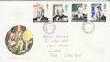 1995-09-05 Communications Stamps Llanelli FDC (63252)