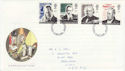 1995-09-05 Communications Stamps Grantham FDC (63253)