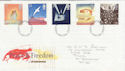 1995-05-02 Peace and Freedom Stamps York FDC (63256)